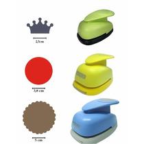 Kit Circulo Escalope 5cm + Liso 3,8cm + Coroa 2,5cm