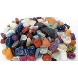 Pedra Rolada Sortida Mista Natural 1kg