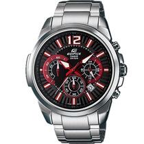 Relógio Masculino Casio Edifice Vermelho Barato Original