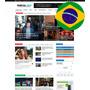 Tema Portal De Noticias 2018 Wordpress Responsivo Pt-br