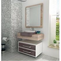 Gabinete / Armário Banheiro / Bancada Banheiro Modelo 500