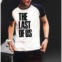 Camiseta Raglan Manga Curta The Last Of Us Playstation