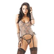 Fantasia Feminina Oncinha Sexy Lingerie Sensual