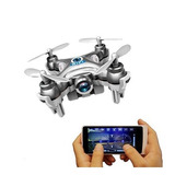 Mini Nano Drone Cheerson Com Camera Visão Tempo Real Cx10w