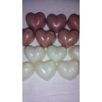 Sabonete Artesanal - Mini Corações Perfumados(kit C/50 Unid)