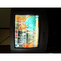 Tv Philips 14 Polegadas - Conservada Sem Controle