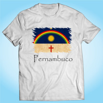 Camisa Pernambuco - Bandeira - Brasil - Personalizada