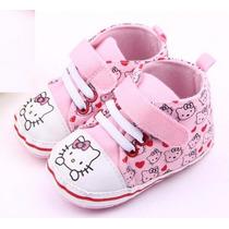 Tenis Hello Kitty - Bebe - Menina- Recém Nascido Sapatinho