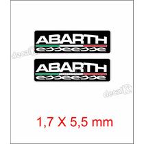 Emblema Adesivo Resinado Fiat Abarth Esseesse Coluna Decalx
