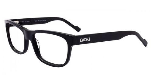 Armação Oculos Grau Evoke On The Rocks 3 A01 Preto Brilho 0c35a2306c