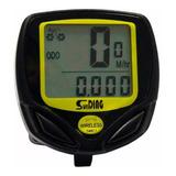 Velocímetro Digital Odômetro Wireless Bike À Prova D'água