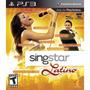 Novo Singstar Latino+2 Microfones Original Da Sony Ps3