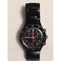 Relógio Swatch Masculino Black Coat
