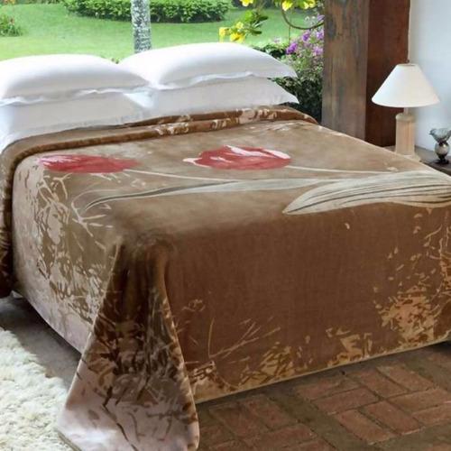 Comprar cobertor para cama king jolitex raschel holambra 2 for Cobertor cama