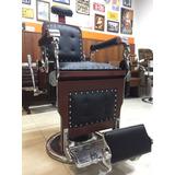 Cadeira De Barbeiro Restaurada Com Frete Grátis