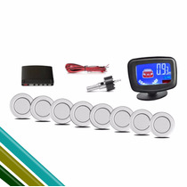 Sensor De Estacionamento - 8 Pontos Prata Universal