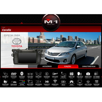 Central Multimidia M1 Original Toyota Corolla 2007 - 2013