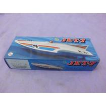 Brinquedo Antigo, Lancha Jet-7 Da Trol Na Caixa.