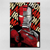 Poster 30x45cm Filmes Vingadores Iron Man Homem De Ferro
