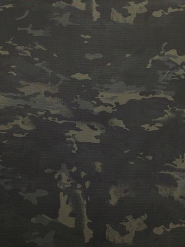 Tecido Rip Stop Camuflado Multicam Black (3 Metros) Farda - R  150 ... ec20cfbd72b
