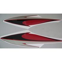 Adesivo Original Tanque Vermelho Suzuki En125 Yes 2008