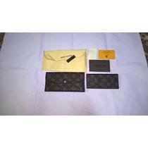 Carteira Louis Vuitton Feminina Monogramas Envio Imediato