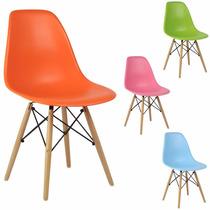 Cadeira Charles Eames Wood Dsw Design Mega Promoção