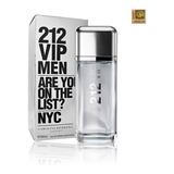 Perfume Masculino Carolina Herrera 212 Vip Men Edt 200ml