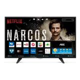 Smart Tv 43  Aoc Full Hd Conversor Digital Wi-fi Usb Hdmi