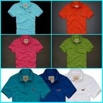 Camisa Polo Hollister Kit C/6 Peças, Abercrombie, Lacoste