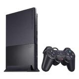 Sony Playstation 2 Slim Standard Charcoal Black