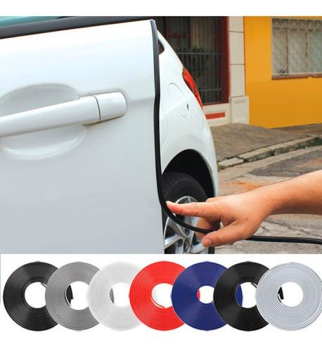 Protetor De Bordas Portas Veiculo Universal Carro -5 Metros