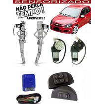 Kit Vidro Elétrico Celta 2 Portas 2000... Sensorizado