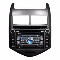Central Multimídia Caska Dvd Gps Tv Ca310a Chevrolet Sonic