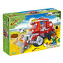 Brinquedo Blocos De Montar Banbao Fazenda Colheitadeira 8576