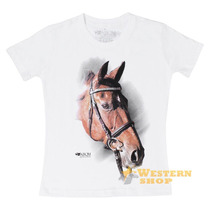 Camiseta Baby Look Feminina Branca 100% Algodão - Abqm 14997