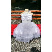 Promoção - Vestido Branco De Festa Para Daminha