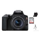 Canon Rebel Sl3 C/ Lente 18-55 Is Stm+ 64gb+ Bolsa+ Tripé