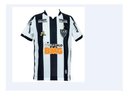 16c07b903d Camisa Atletico Mg Bmg 2019 Le Coq Masculina