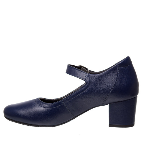 5465045f103d5 Sapato Feminino 287 Em Couro Petróleo Doctor Shoes - R$ 229 en ...