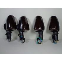 Kit Setas Pisca Fume Modelo Honda Falcon Nx400 ( 4 Peças )