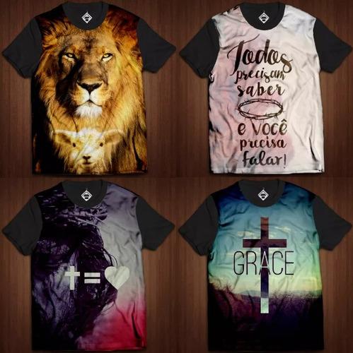 f1646a5ed Atacado Camisetas Evangélicas Com Estampas Total à venda em ...