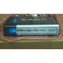 Dsl-500g Usado Marca D-link, 100% Funcionando Fonte Original