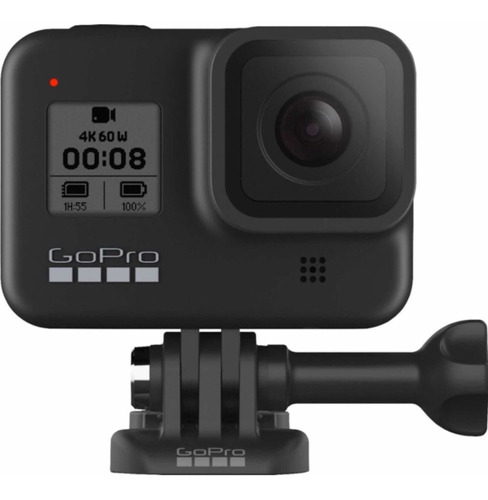 Câmera Digital Gopro Hero 8 Black Wifi 12 Mp 4 K Original