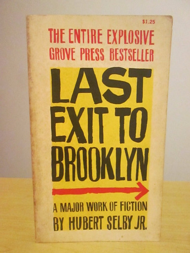 Livro Last Exit To Brooklin Hubert Selby Jr. Importado
