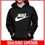 Moletom Nike Masculino E Feminino Blusa De Frio Canguru