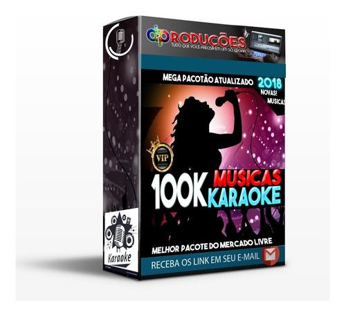 Kit Karaoke Videoke + 100.000 Músicas - Download 2019