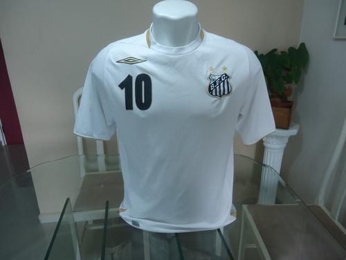 Camisa Do Santos Umbro 2007   10 - ( 335 ) 0d09918c47470