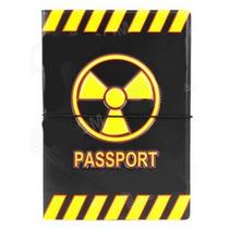 Capa Em Pvc Para Passaporte C/ Porta Cartao - Radiacao
