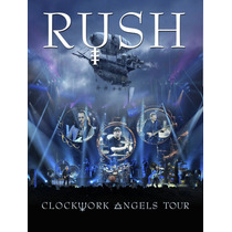 Rush - Clockwork Angels Tour [2dvd] Uk - Frete Gratis
